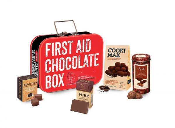 First Aid Chocolate Box - the perfect holiday gift for mom!