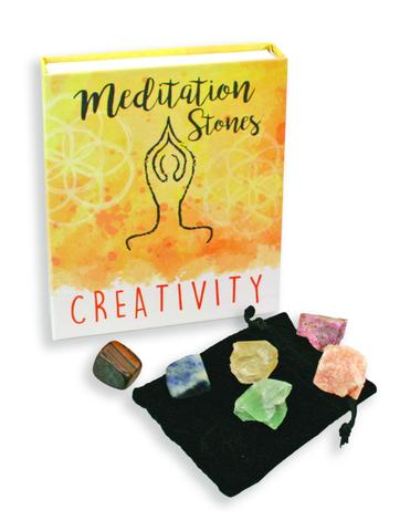 Meditation Stones for Creativity - the perfect gift for creative moms!