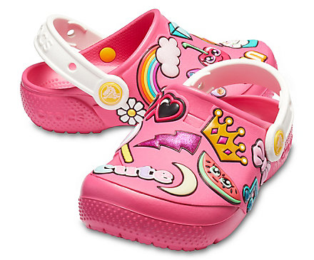 Kids' Crocs Fun Lab Playful Patches Clogs