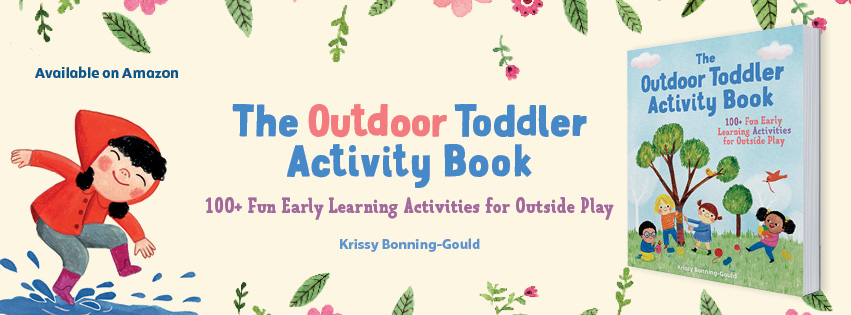 Outdoor Toddler Activity Book