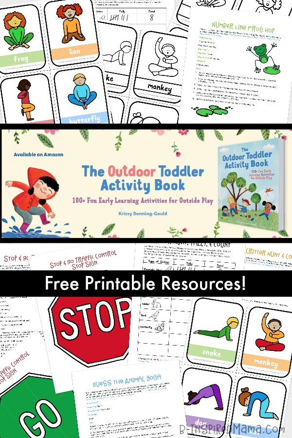 photo about Printable Activity Books titled Printable Outside Little one Routines for Exciting and Mastering