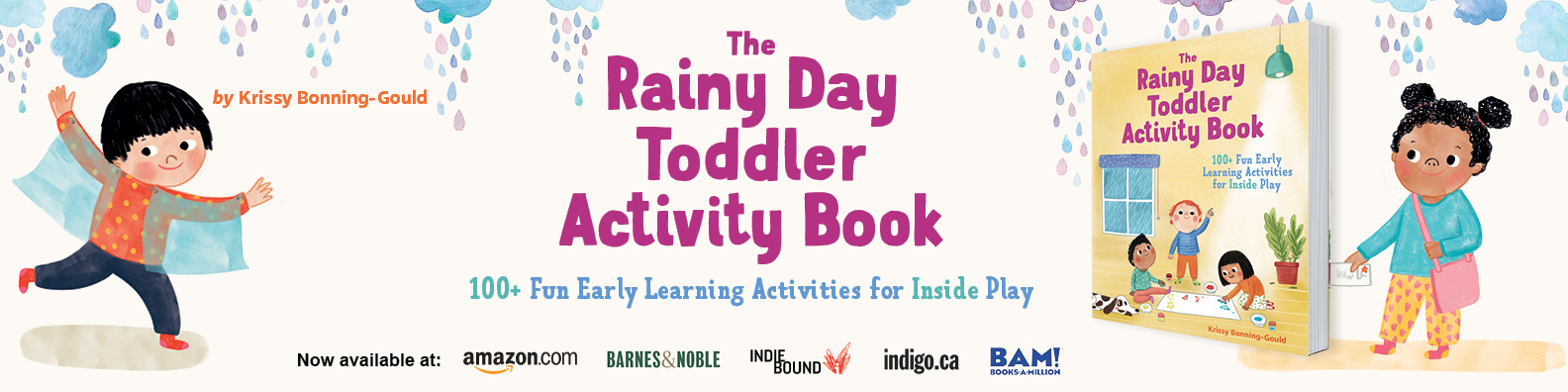 Rainy Day Toddler Activity Book