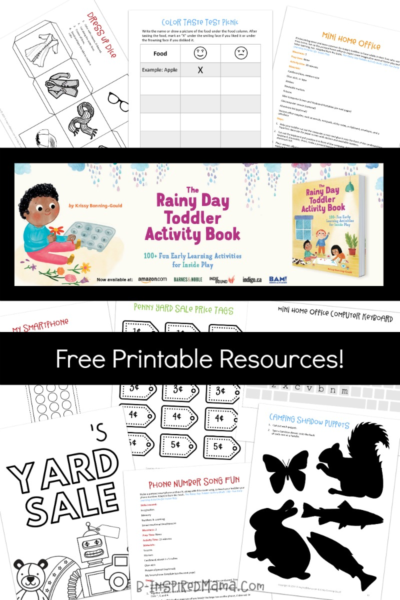 picture about Toddler Printable Activities referred to as Printable Infant Things to do - Fantastic for a Rainy Working day In just!