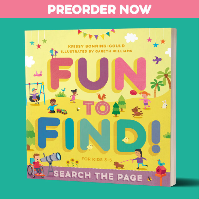 Preorder the BEST seek and find book for Preschoolers... Fun to Find: Search the Page